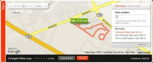 Nike plus running loop