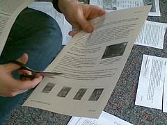 Scissor-style information slicing