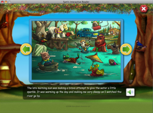 Adobe AIR for an interactive children's story book | Just Write Click