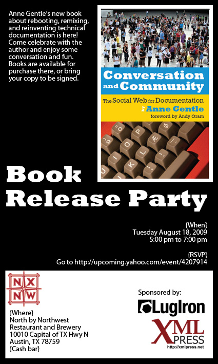 Book Release Party Invitation